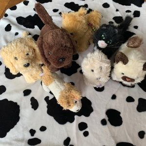Bundle of 7 American Girl Doll Pets All retired